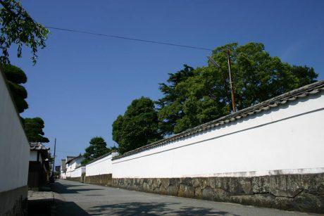 萩城下町(萩市提供)