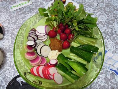 有機栽培のちろりん野菜。